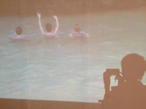 SIREN CALL at Toride Station for Toride International Video Art Festival.